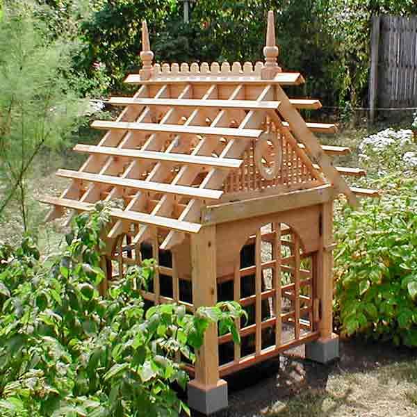 Decorative Wood Garden Structure