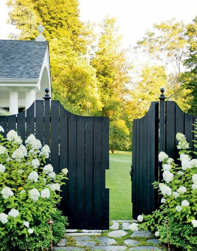 Black Fence Painting Ideas