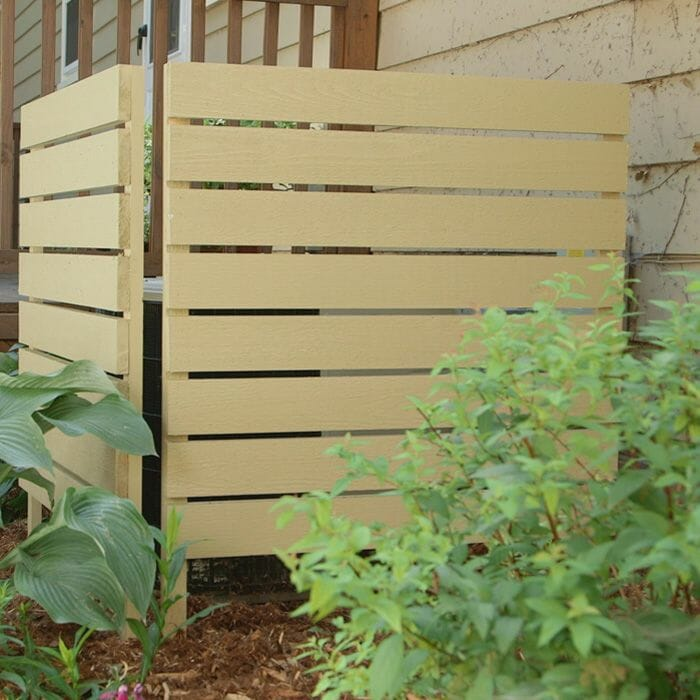Basic Fence with Premade Panels