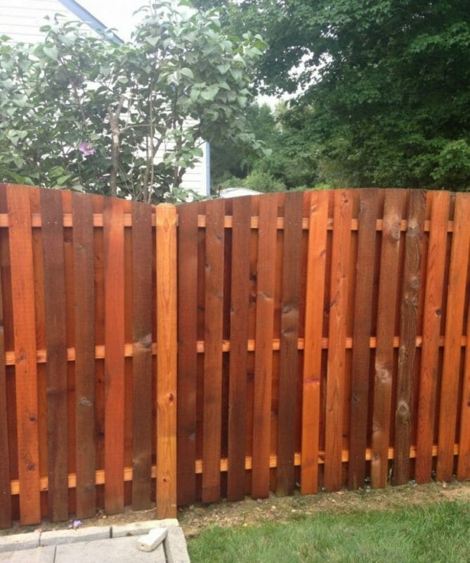 Bright Yellow Fence Painting Ideas