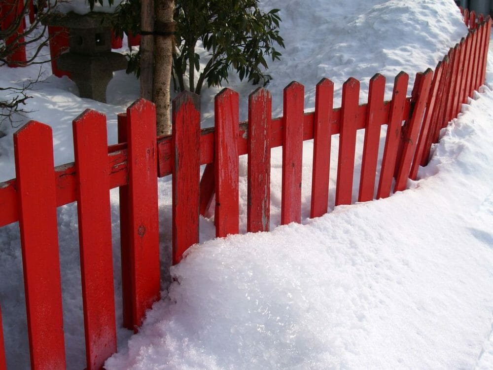 red picket fence combined locks