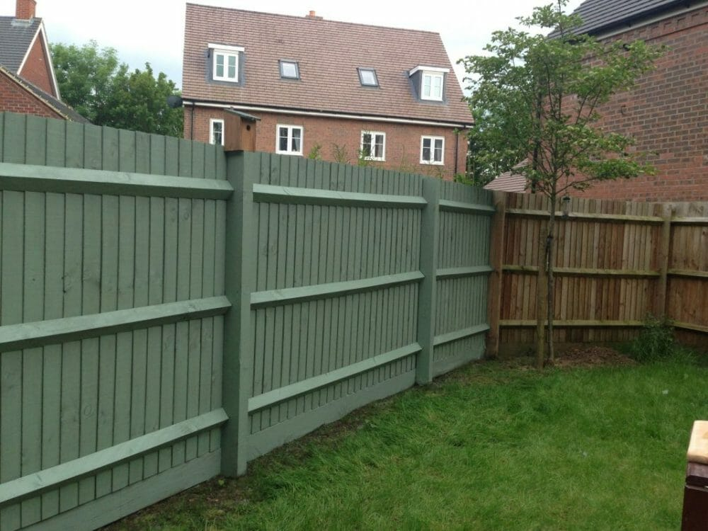 Willow Shade Fence Painting Ideas