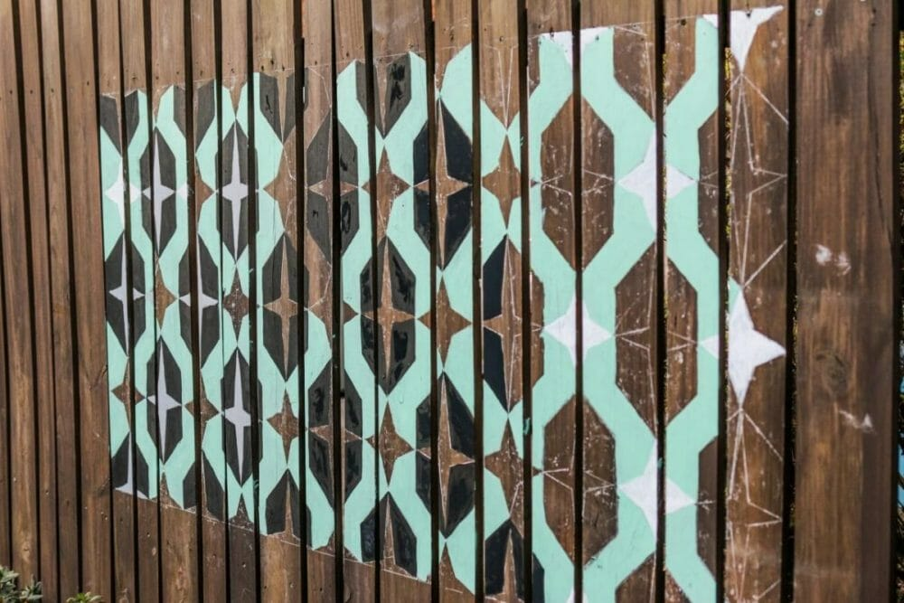Repeating Stenciled Patterns