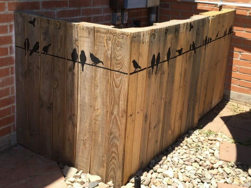 Silhouette Fence Painting Ideas