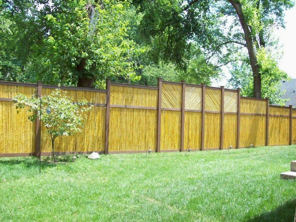 bamboo fence screening perth