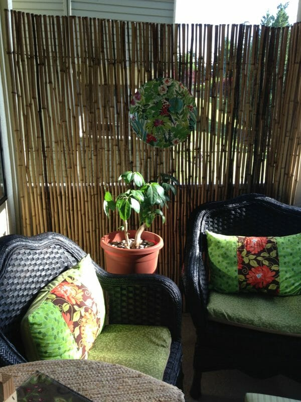 Bamboo Fence Privacy Screen
