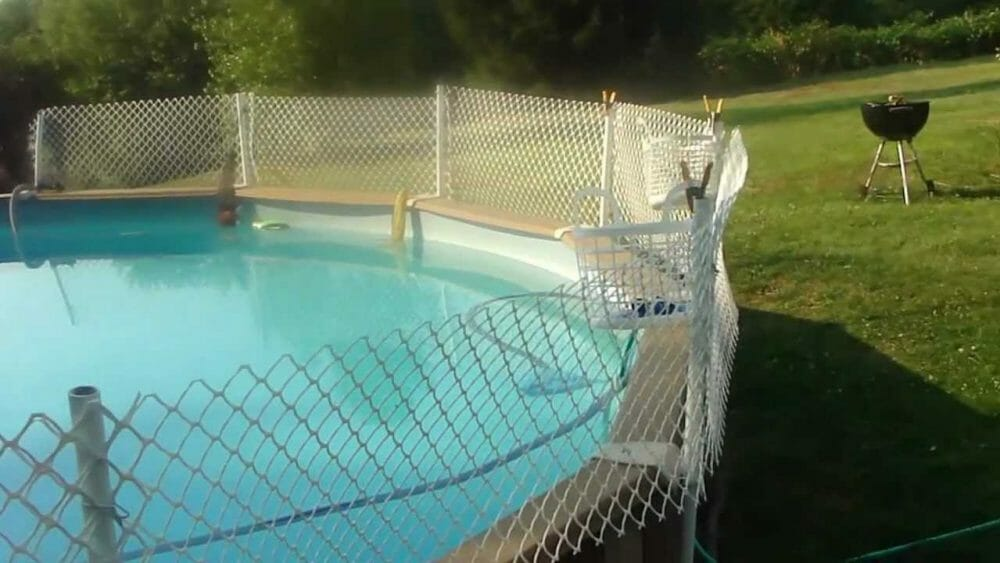 Cheap Above-Ground Pool Fence Ideas