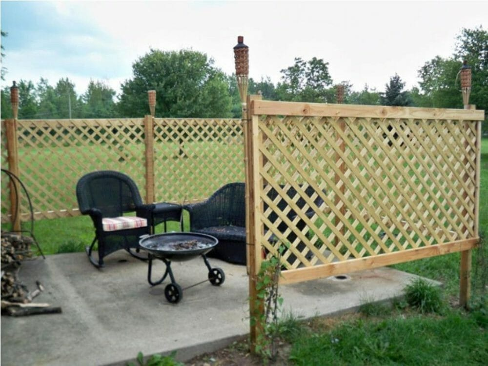temporary fencing guidelines
