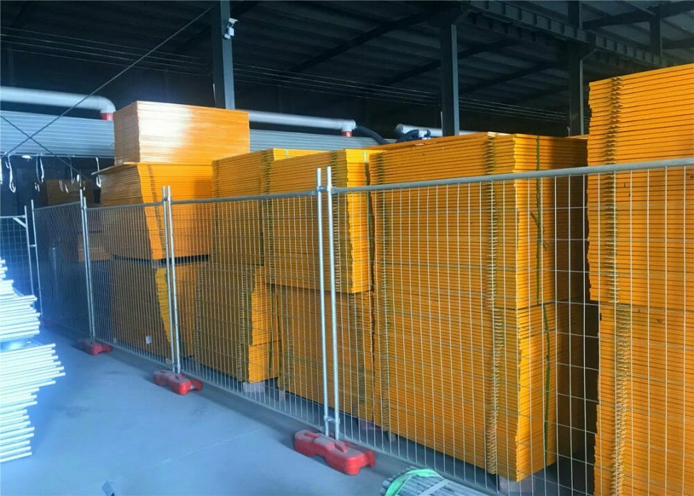 temporary fencing barriers