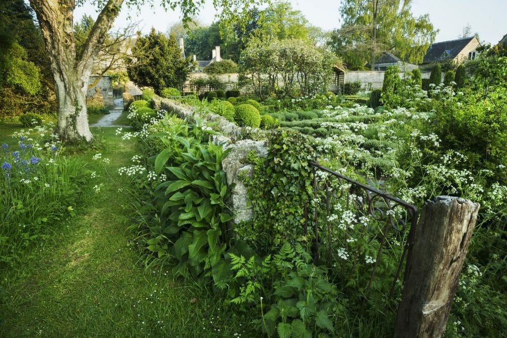 combination garden fences